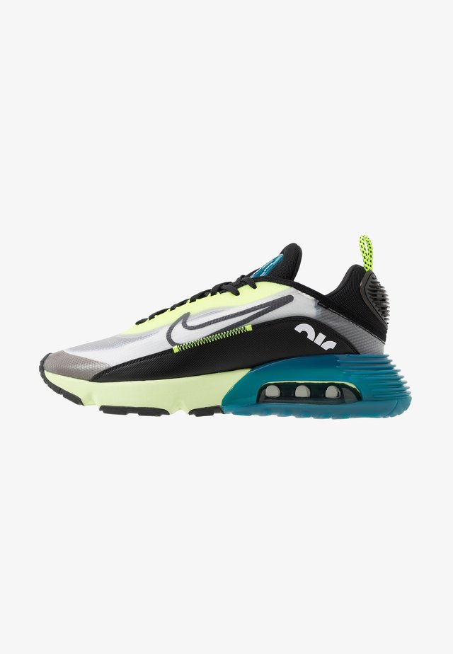 AIR MAX 2090 - Sneakersy niskie - white/black/volt/blue force/barely volt