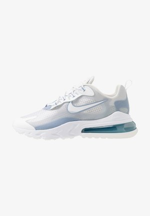 AIR MAX 270 REACT SE - Sneakersy niskie - white/pure platinum/indigo fog/hyper crimson