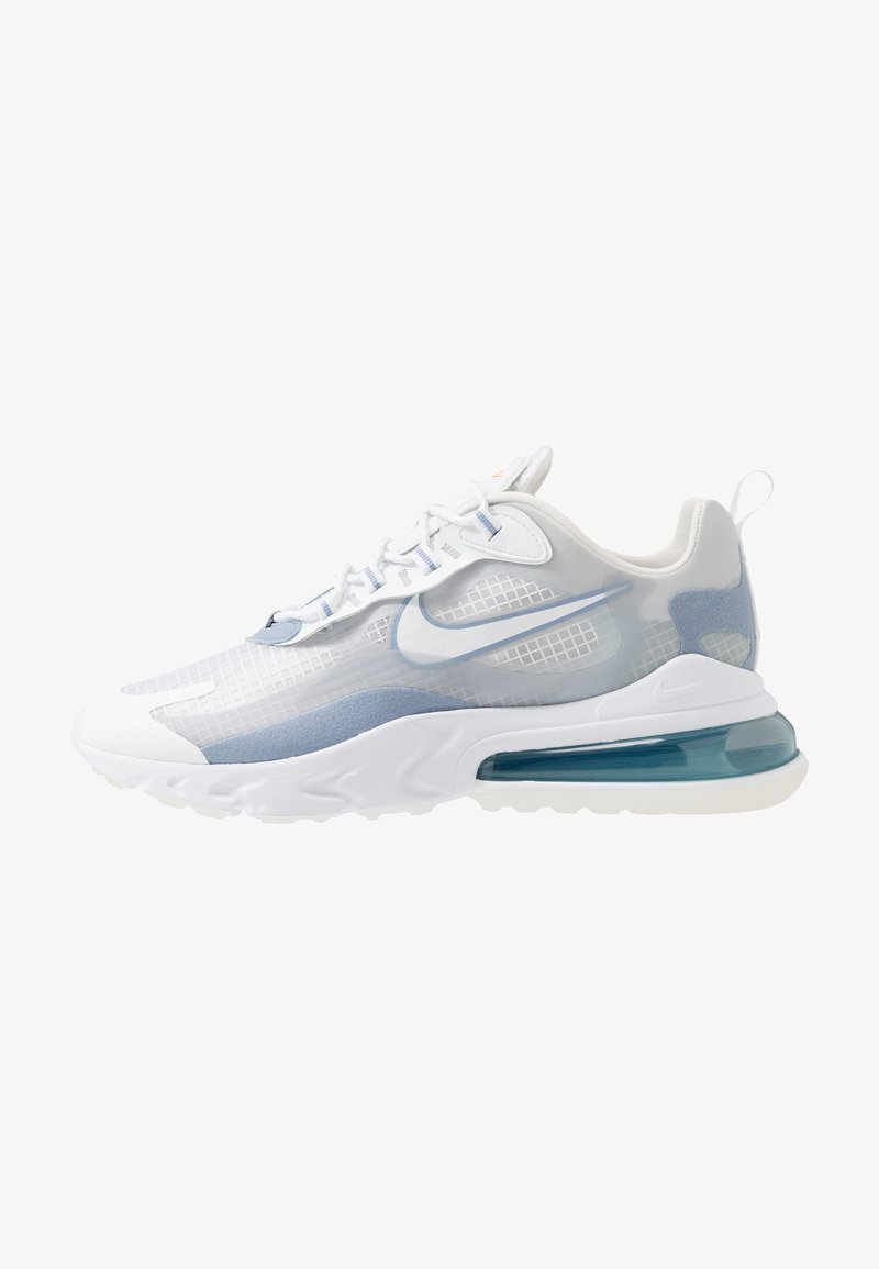 Nike Sportswear - AIR MAX 270 REACT SE - Sneakersy niskie - white/pure platinum/indigo fog/hyper crimson