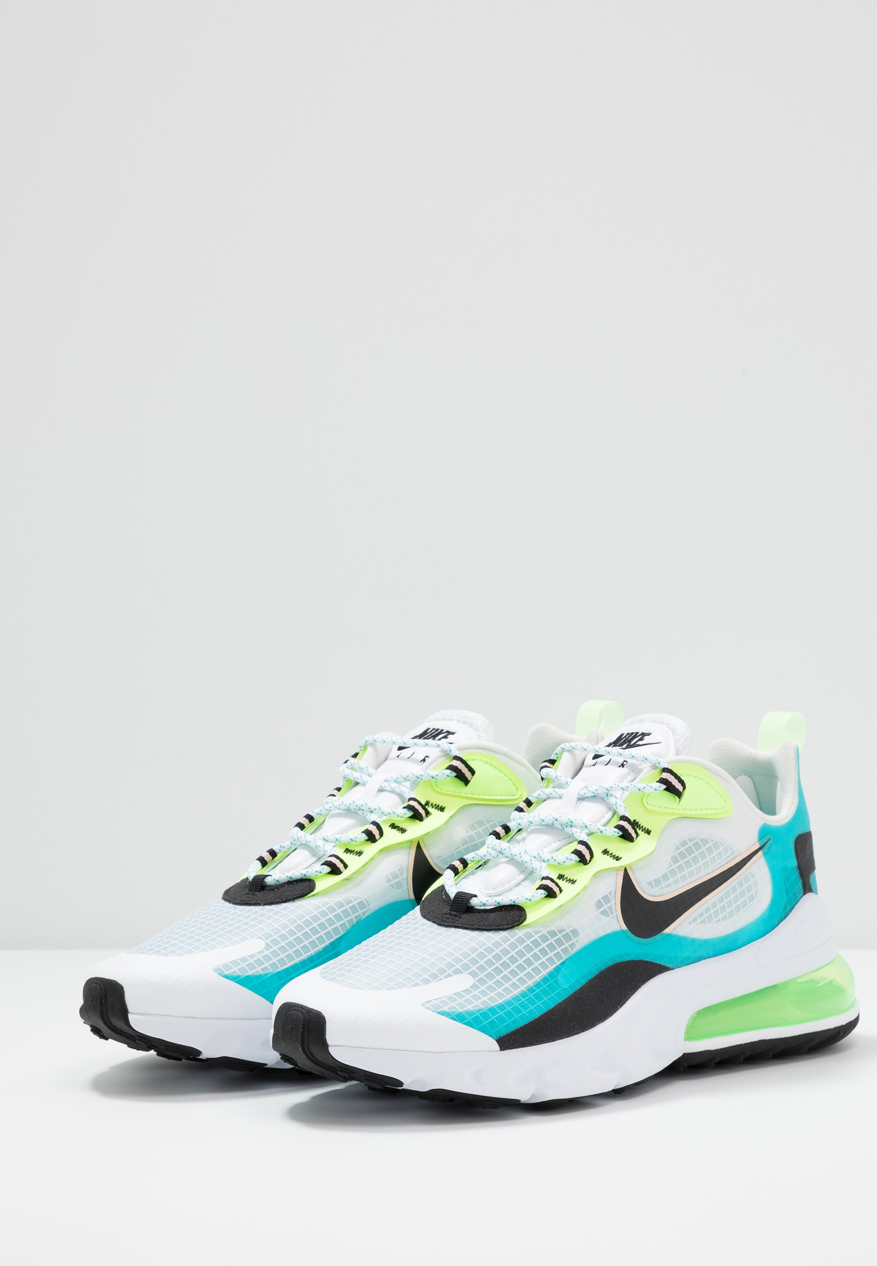AIR MAX 270 REACT SE Sneakers oracle aquablackghost greenwashed coralwhite