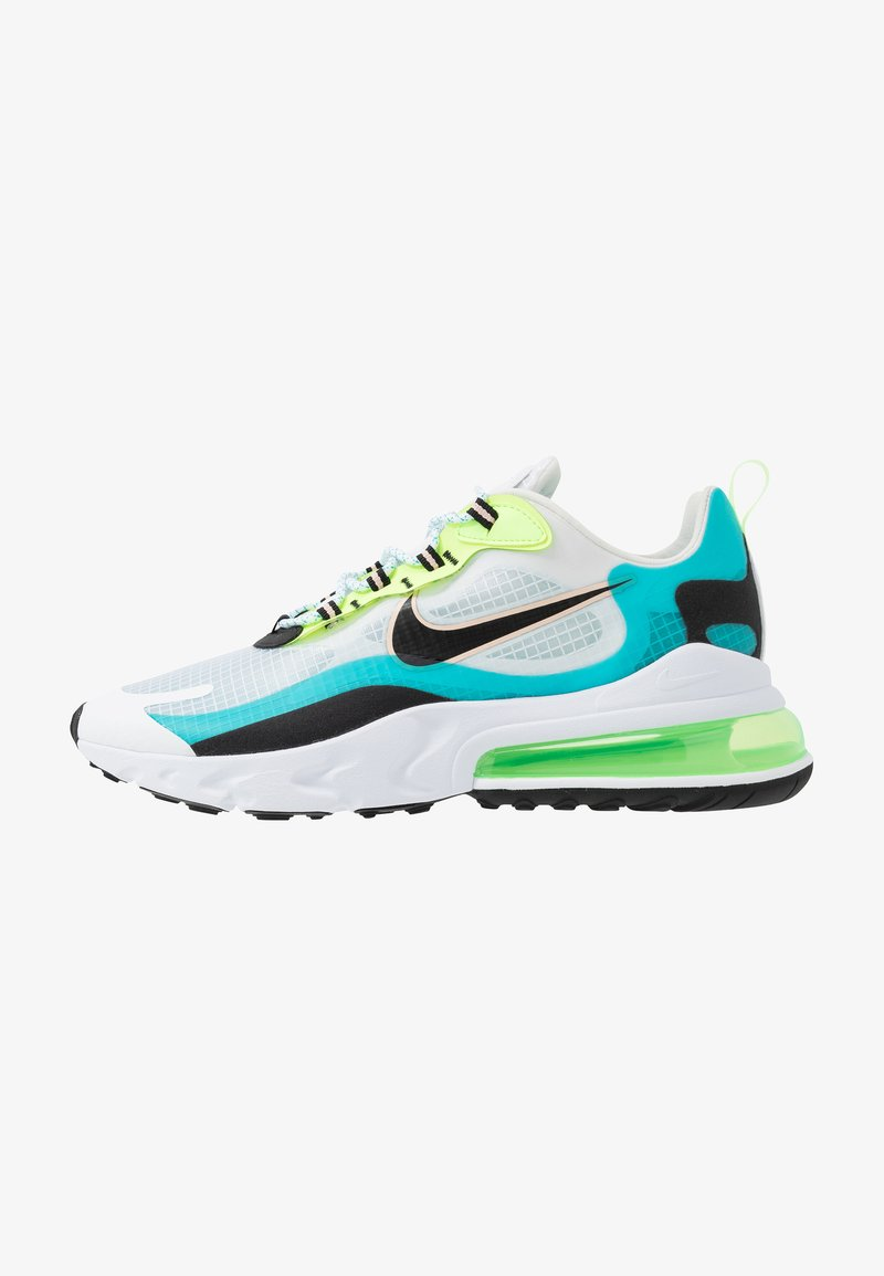 Nike Sportswear - AIR MAX 270 REACT SE - Baskets basses - oracle aqua/black/ghost green/washed coral/white
