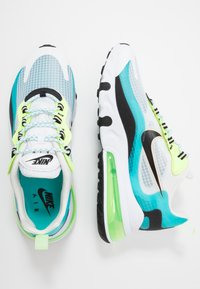 Nike Sportswear - AIR MAX 270 REACT SE - Baskets basses - oracle aqua/black/ghost green/washed coral/white - 1