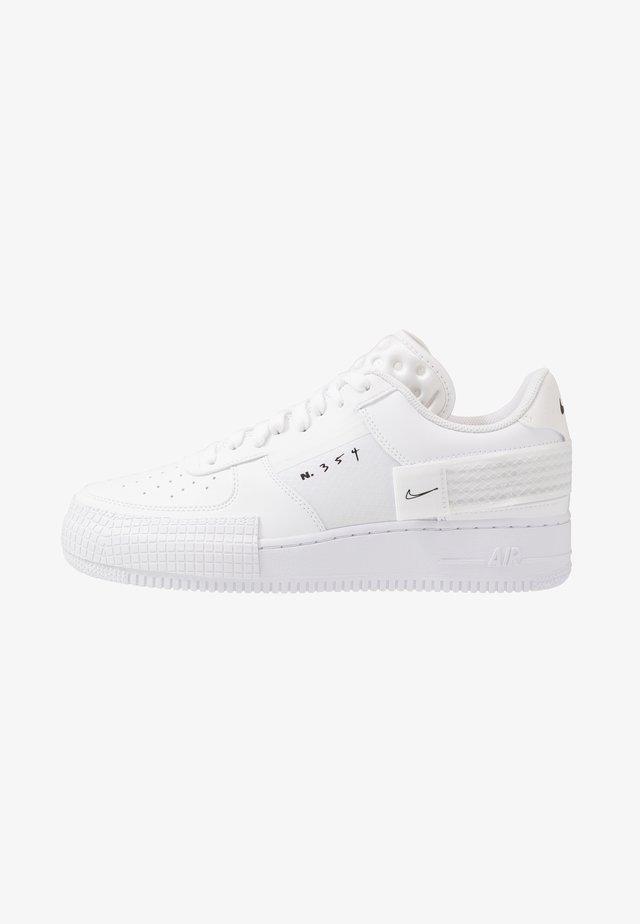 AF1-TYPE  - Sneakersy niskie - white/black