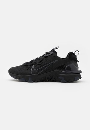 REACT VISION UNISEX - Sneakers laag - black/anthracite