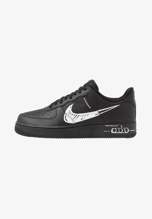 AIR FORCE 1 - Matalavartiset tennarit - black/white