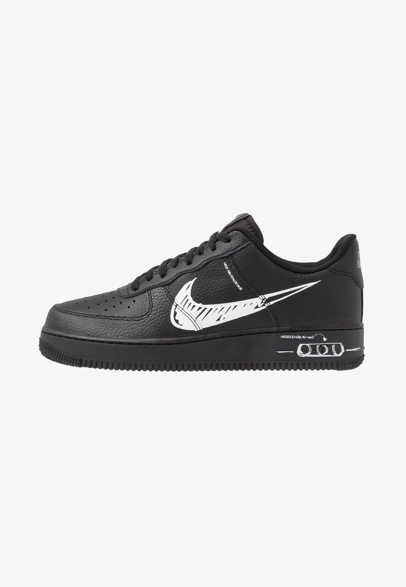 Nike Sportswear - AIR FORCE 1 - Sneakers basse - black/white