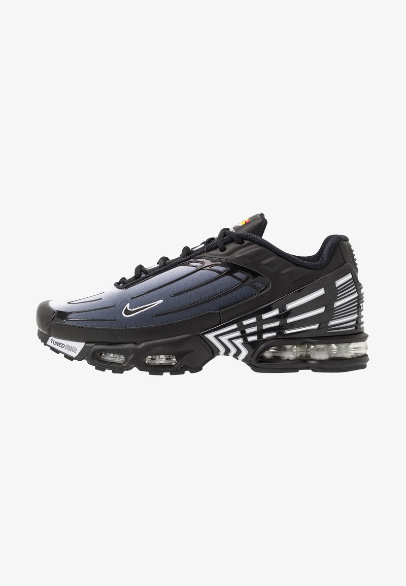 Nike Sportswear - AIR MAX PLUS III - Sneakers laag - black/white