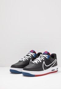 Nike Sportswear - AIR FORCE 1 REACT - Trainers - black/dark smoke grey/laser crimson/voltage purple/hyper crimson/aurora green - 2
