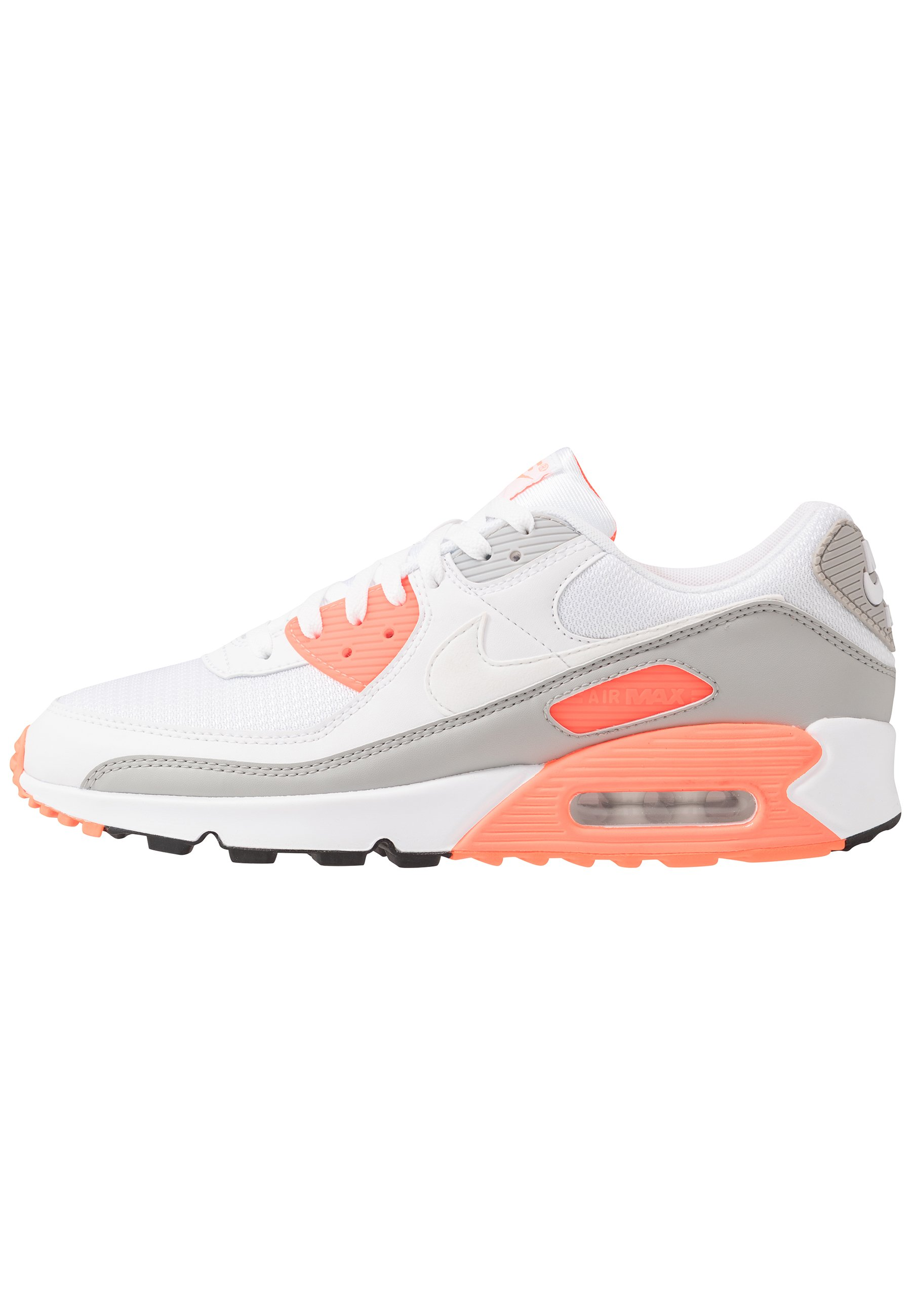 AIR MAX 90 Baskets basses whitehyper orangelight smoke grey