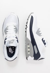 Nike Sportswear - AIR MAX 90 - Sneakers laag - white/particle grey/obsidian - 1
