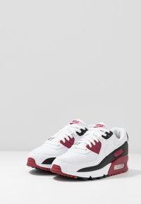 Nike Sportswear - AIR MAX 90 - Sneakers laag - white/chile red/black - 2