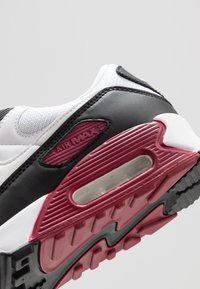 Nike Sportswear - AIR MAX 90 - Sneakers laag - white/chile red/black - 5