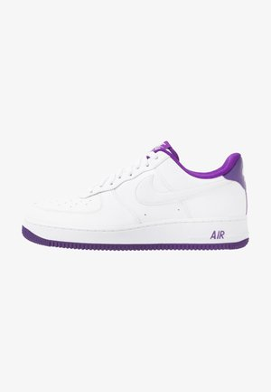 AIR FORCE 1 '07  - Sneaker low - white/voltage purple