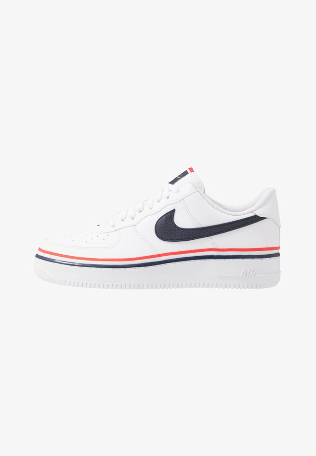 AIR FORCE 1 '07 LV8  - Sneakers laag - white/obsidian/habanero red