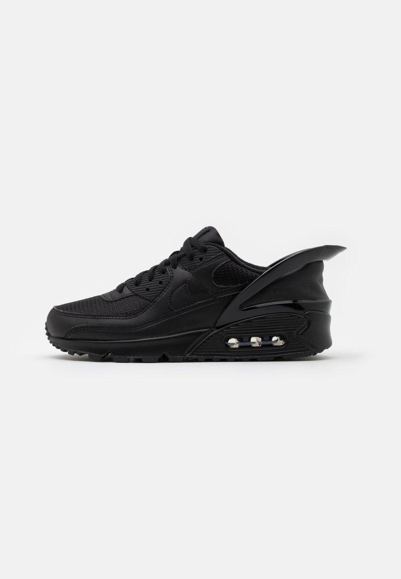 Nike Sportswear - AIR MAX 90 FLYEASE - Sneakers laag - black
