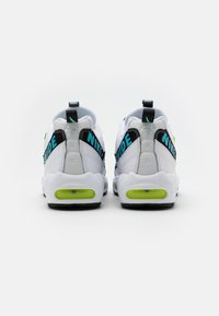 Nike Sportswear - AIR MAX 95 - Sneakersy niskie - white/blue fury/volt/black - 2