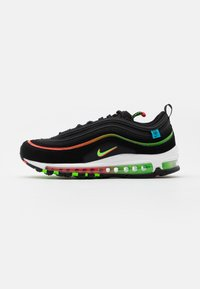 Nike Sportswear - AIR MAX 97 UNISEX - Sneakers laag - black/green strike/flash crimson/white/off noir/blue fury - 0