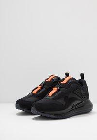 Nike Sportswear - AIR MAX 720 SLIP  OBJ - Sneakersy niskie - black/total orange - 2
