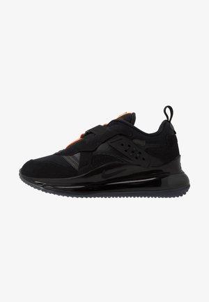AIR MAX 720 SLIP  OBJ - Sneakers - black/total orange