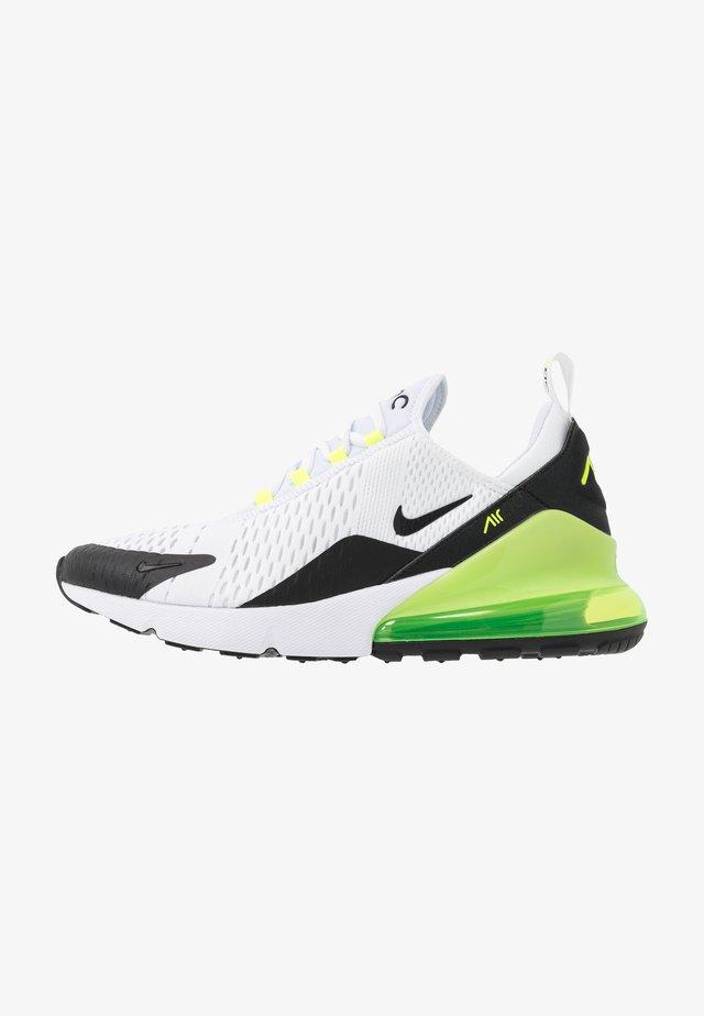AIR MAX 270 ESS - Sneaker low - white/black/volt