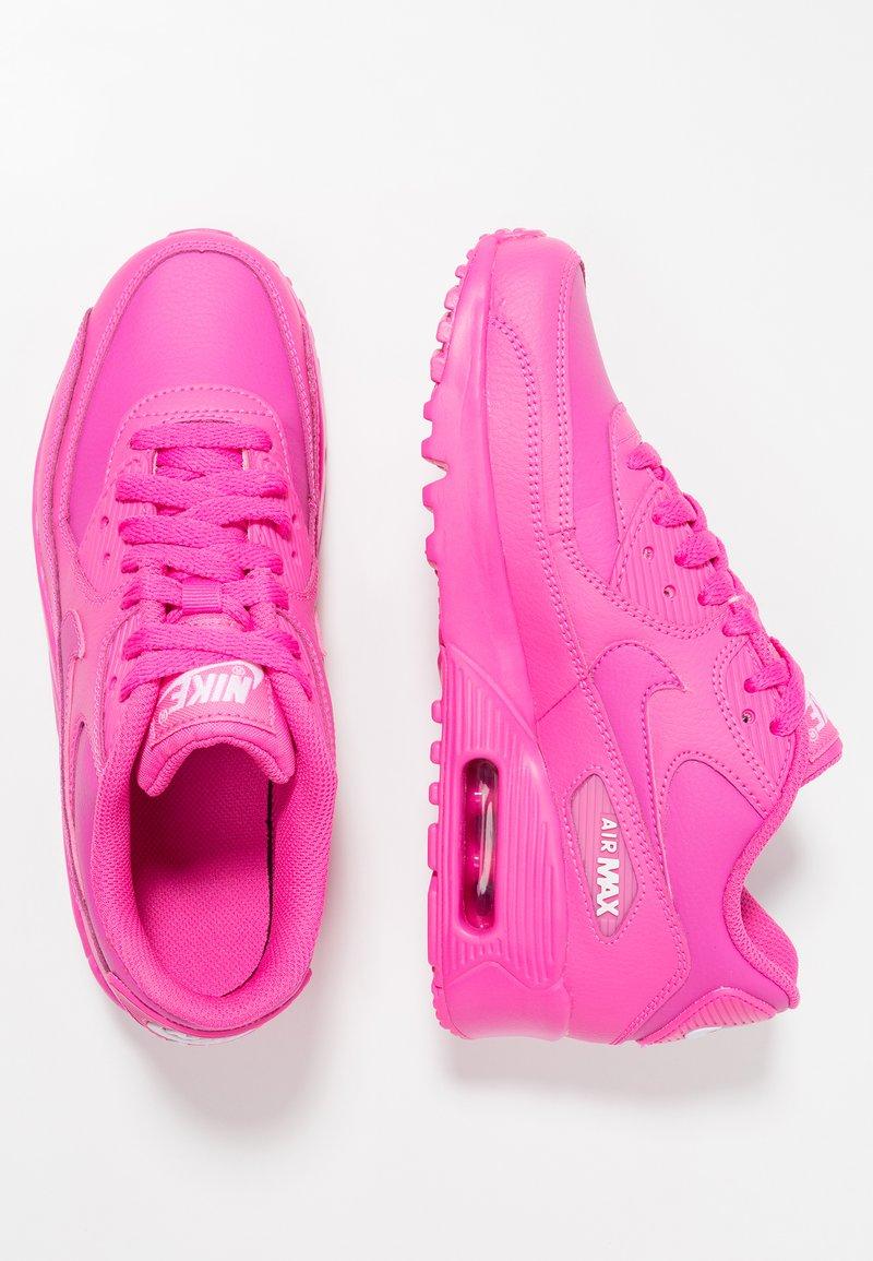Nike Sportswear - AIR MAX 90 - Sneaker low - laser fuchsia/white