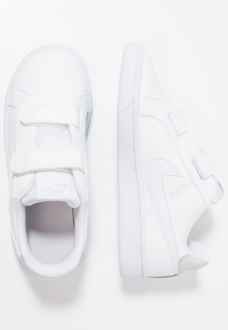 Nike Sportswear - COURT ROYALE  - Trainers - white/vast grey