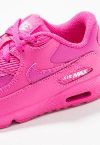 Nike Sportswear - AIR MAX 90  - Sneakersy niskie - laser fuchsia/white - 2