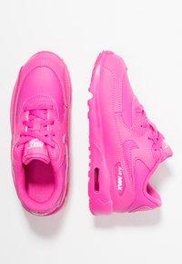 Nike Sportswear - AIR MAX 90  - Sneakersy niskie - laser fuchsia/white - 0