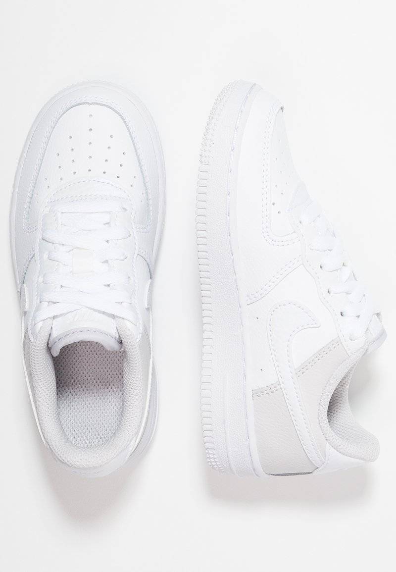 Nike Sportswear - FORCE 1 (PS) - Sneaker low - white/vast grey