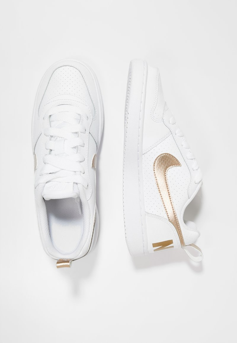 Nike Sportswear - COURT BOROUGH - Sneaker low - white/blur