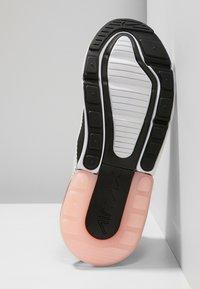 Nike Sportswear - AIR MAX 270 - Zapatillas - platinum tint/white/black/bleached coral - 4