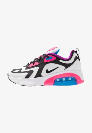 AIR MAX 200 - Sneakers basse - white/black/hyper pink/photo blue