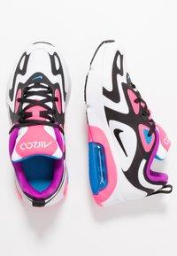 Nike Sportswear - AIR MAX 200 - Baskets basses - white/black/hyper pink/photo blue - 0