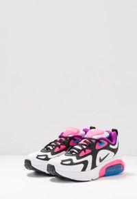 Nike Sportswear - AIR MAX 200 - Baskets basses - white/black/hyper pink/photo blue - 3