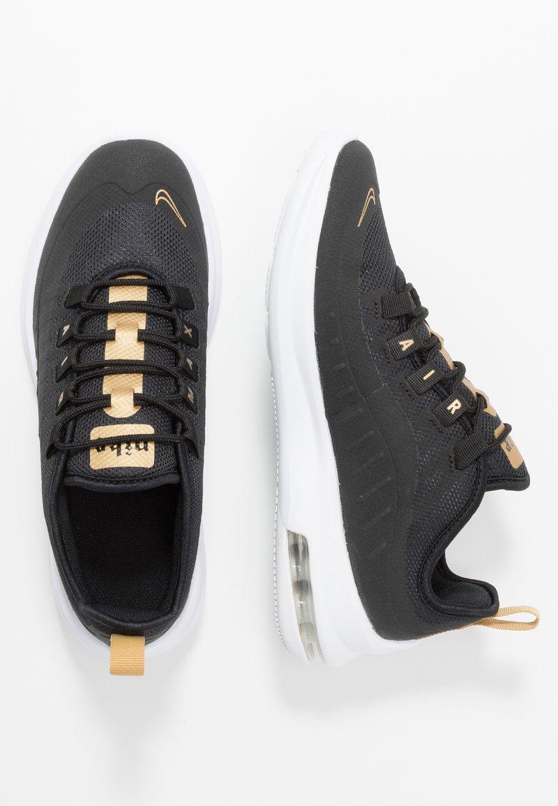 Nike Sportswear - AIR MAX AXIS - Joggesko - black/white/metallic gold