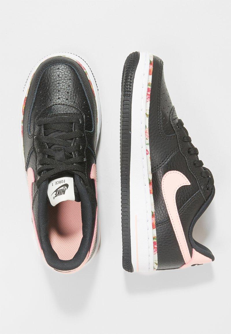Nike Sportswear - FORCE 1 - Sneaker low - black/pink tint/white/pale ivory