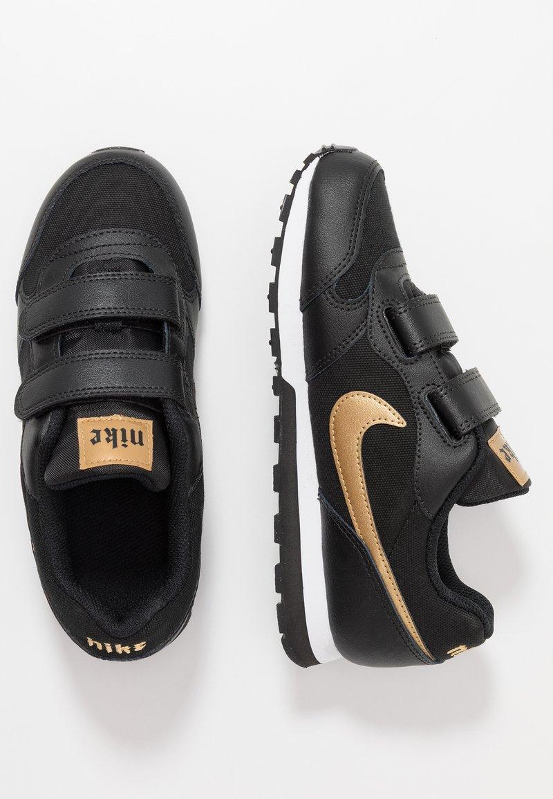 Nike Sportswear - MD RUNNER - Baskets basses - black/metallic gold/white