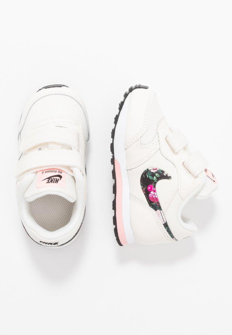 Nike Sportswear - RUNNER 2  - Sneakers - pale ivory/black/pink tint/white