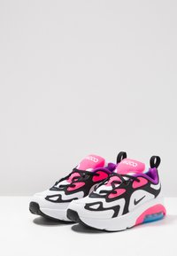 Nike Sportswear - AIR MAX 200 - Zapatillas - white/black/hyper pink/photo blue - 3