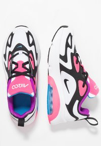 Nike Sportswear - AIR MAX 200 - Zapatillas - white/black/hyper pink/photo blue - 0