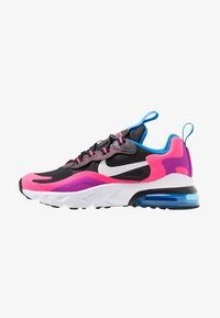 Nike Sportswear - AIR MAX 270 REACT - Mocassins - black/white/hyper pink/vivid purple - 1