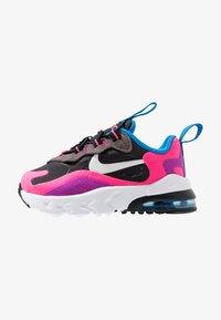 Nike Sportswear - AIR MAX 270 REACT - Zapatillas - black/white/hyper pink/vivid purple - 1