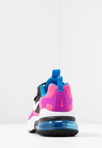 Nike Sportswear - AIR MAX 270 REACT - Sneaker low - black/white/hyper pink/vivid purple - 4