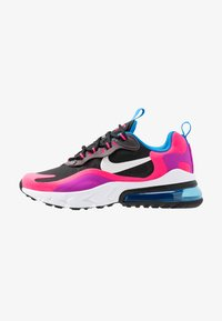 Nike Sportswear - AIR MAX 270 REACT - Sneaker low - black/white/hyper pink/vivid purple - 1