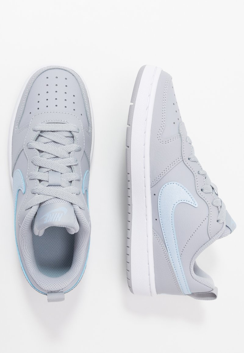 Nike Sportswear - COURT BOROUGH EP - Sneakers - wolf grey/celestine blue/celestine blue/white