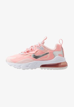 AIR MAX 270 REACT GG GEL - Sneakers - bleached coral/white echo pink/vast grey/metallic silver
