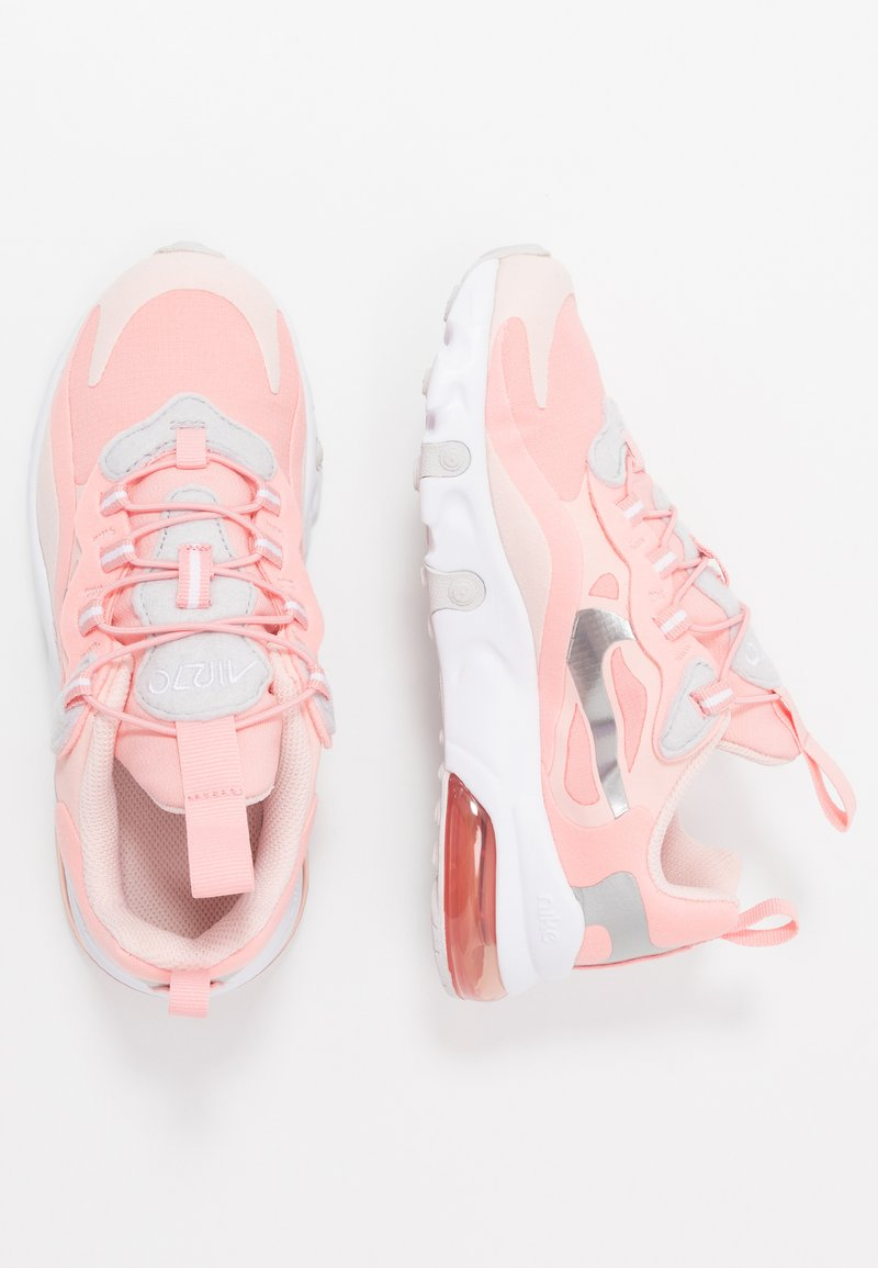 Nike Sportswear - AIR MAX 270 RT GP GEL - Nazouvací boty - bleached coral/metallic silver/white/echo pink/vast grey