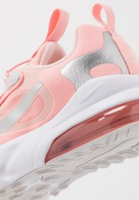 Nike Sportswear - AIR MAX 270 RT GP GEL - Nazouvací boty - bleached coral/metallic silver/white/echo pink/vast grey - 2