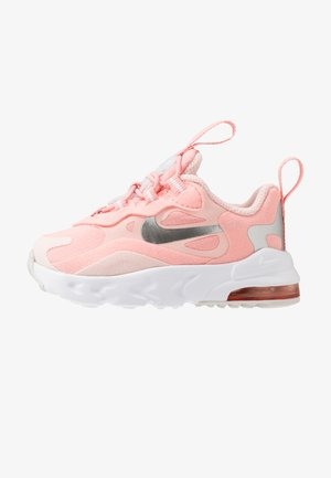 NIKE AIR MAX 270 GEL - Sneakersy niskie - bleached coral/metallic silver/white/echo pink/vast grey