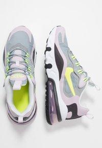 Nike Sportswear - AIR MAX 270 REACT  - Baskets basses - particle grey/lemon/iced lilac/off noir - 0